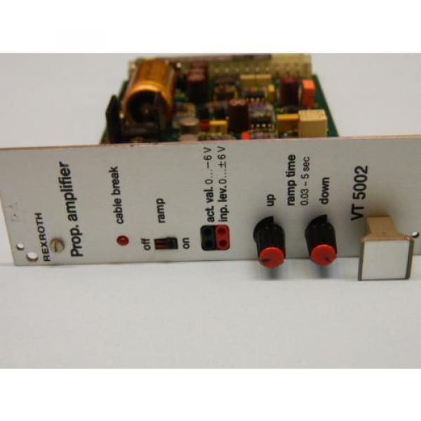 Rexroth VT-5002S22 R5 Valve Amplifier Card #3 image