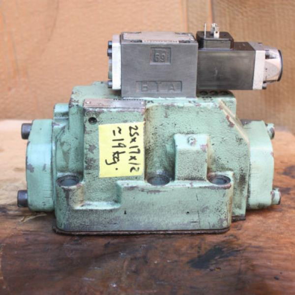 Rexroth HYDRONORMA 4 WH 22 E60UET 4WE 6 D52AW110-50NZ5LB15 Hydraulic Valve #1 image