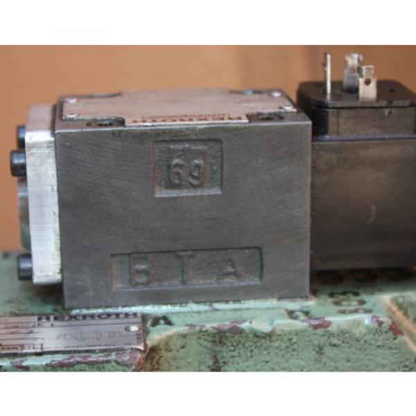 Rexroth HYDRONORMA 4 WH 22 E60UET 4WE 6 D52AW110-50NZ5LB15 Hydraulic Valve #4 image