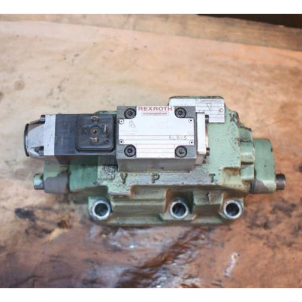 Rexroth HYDRONORMA 4 WH 22 E60UET 4WE 6 D52AW110-50NZ5LB15 Hydraulic Valve #5 image