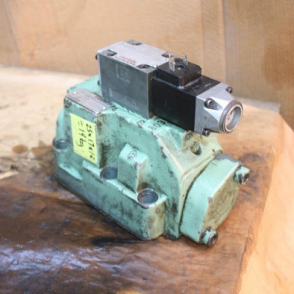 Rexroth HYDRONORMA 4 WH 22 E60UET 4WE 6 D52AW110-50NZ5LB15 Hydraulic Valve #9 image
