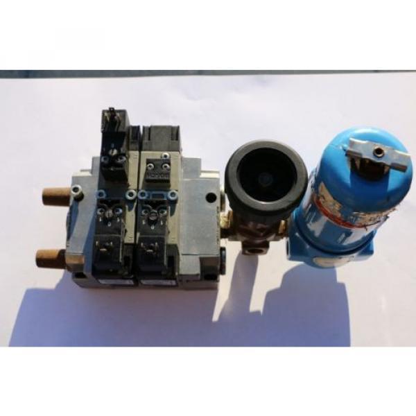 REXROTH Druckluftventil Magnetventil Ventilinsel / Solenoid valves  057 #1 image