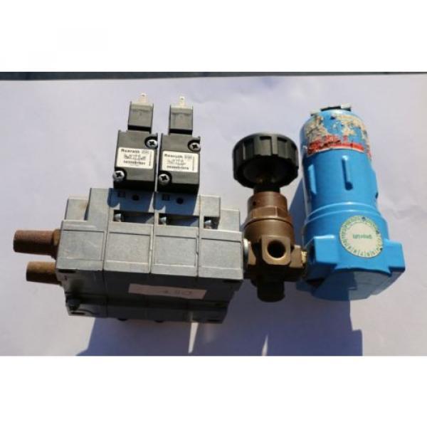REXROTH Druckluftventil Magnetventil Ventilinsel / Solenoid valves  057 #2 image