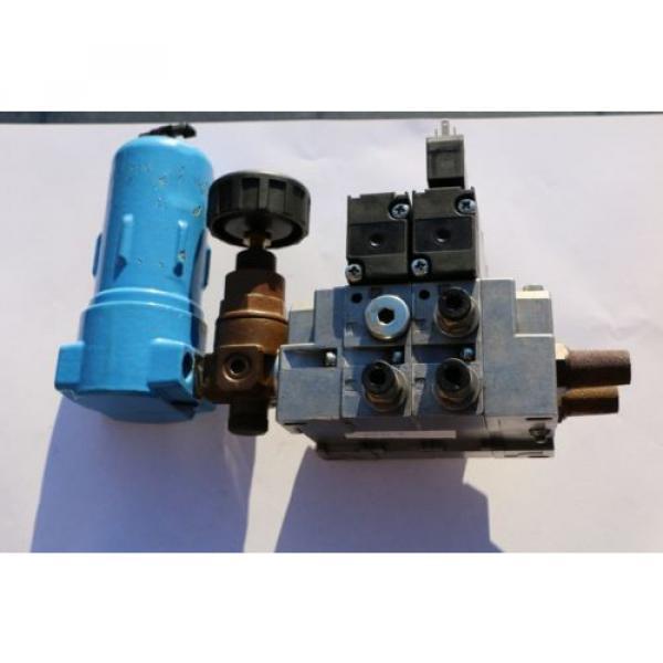REXROTH Druckluftventil Magnetventil Ventilinsel / Solenoid valves  057 #3 image
