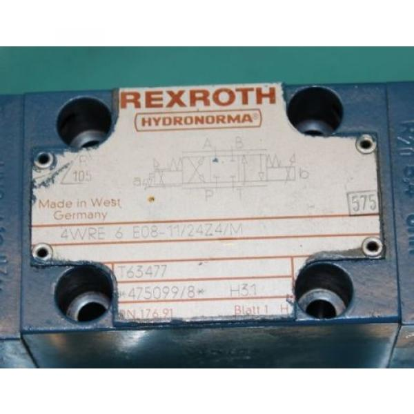 Rexroth, 4WRE6-E08-11/24Z4/M, Proportional Valve Servo #4 image