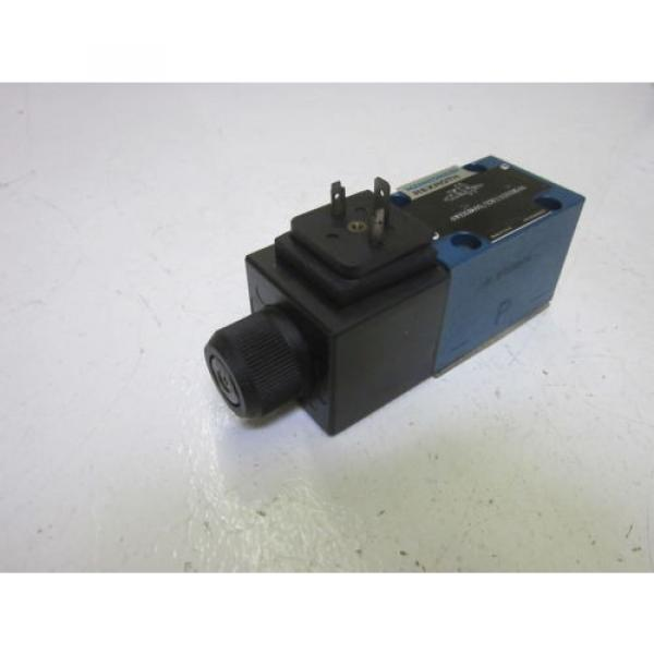 REXROTH 4WE6D60/EW110N9K4 DIRECTIONAL CONTROL VALVE AS PICTURED USED #1 image