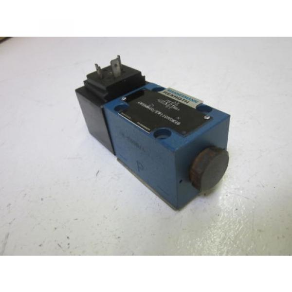 REXROTH 4WE6D60/EW110N9K4 DIRECTIONAL CONTROL VALVE AS PICTURED USED #2 image