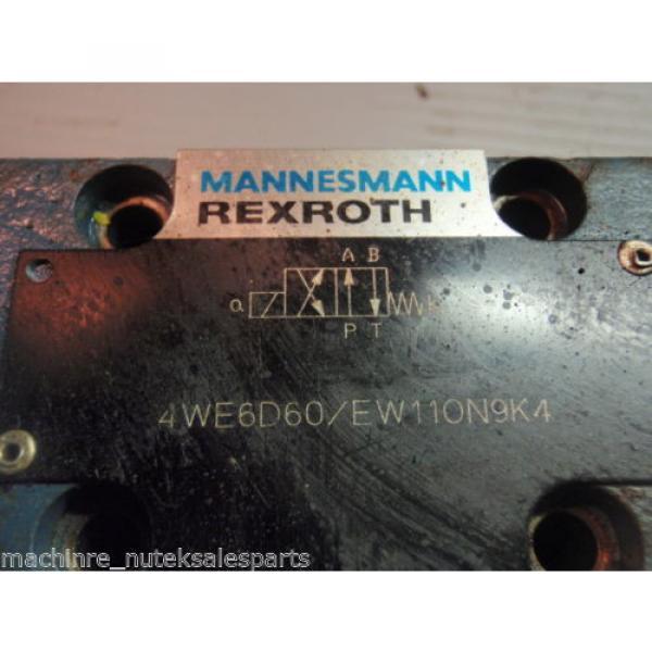 REXROTH VALVE 4WE6D60/EW110N9K4_4WE6D60/EW110N9K4 #3 image