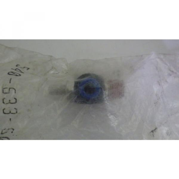 REXROTH  R432027194  FLOW CONTROL RIGHT ANGLE 1/4#034; NPT 1/4#034; OD  TUBE  Origin IN BAG #3 image