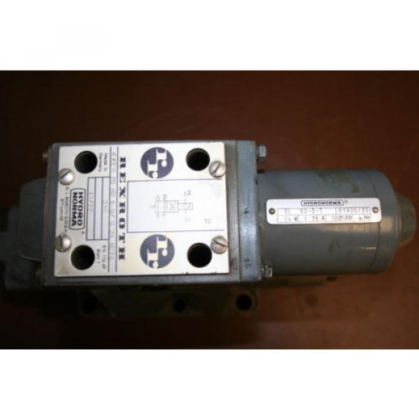 Directional control valve 4way Hydraulic 24V 4WEH20HD60/G24NETS Rexroth Unused #2 image