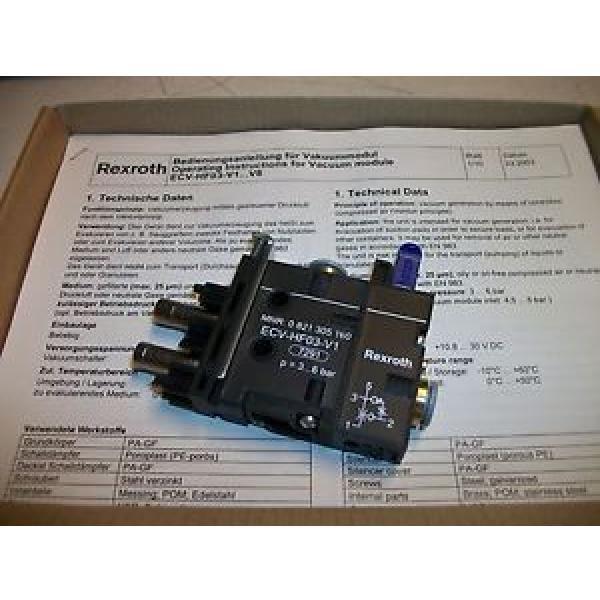 Rexroth Vacuum Module 0 821 305 160 0821305160 #1 image