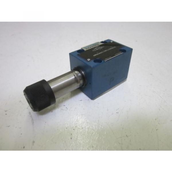 REXROTH 4WE6D60/EW110N9K4 VALVE AS PICTURED USED #1 image