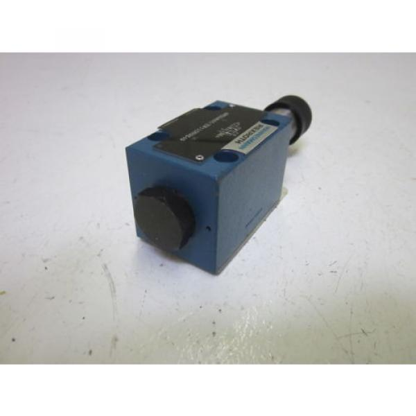 REXROTH 4WE6D60/EW110N9K4 VALVE AS PICTURED USED #2 image