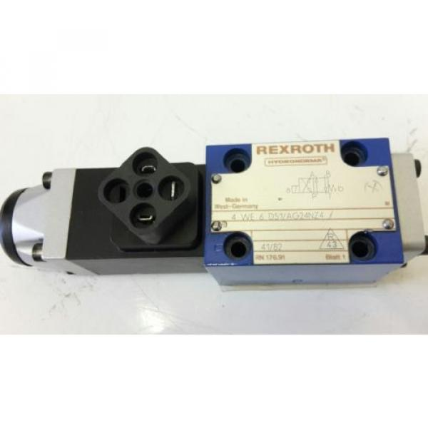 Rexroth Hydraulikventil 4WE6D51/AG24NZ4 solenoid valve 703273 #1 image