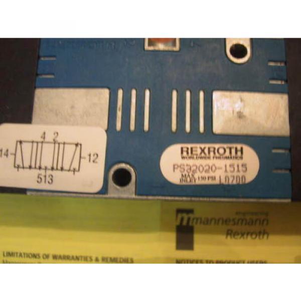 origin In Box CD-7 Rexroth PS-032020-01515 Double Solenoid Valve PS32020-1515 #2 image