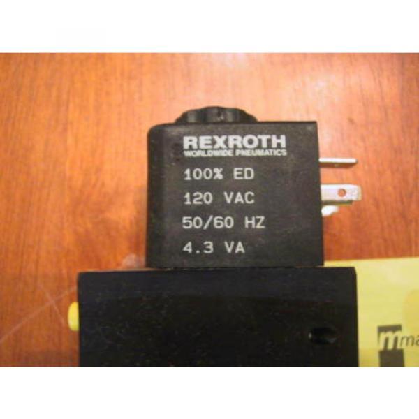 origin In Box CD-7 Rexroth PS-032020-01515 Double Solenoid Valve PS32020-1515 #3 image