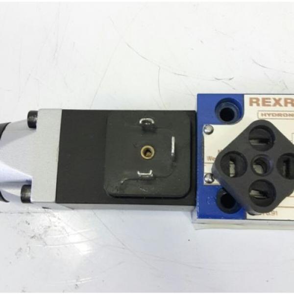 Rexroth Hydraulikventil 4WE6D51/AG24NZ4 solenoid valve 703273 #3 image