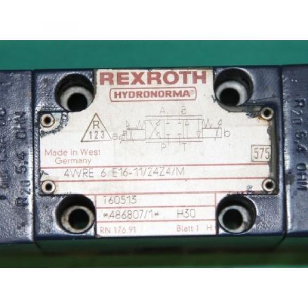 Bosch Rexroth 4WRE 6 E16-11/24Z4/M Proportional valve #3 image