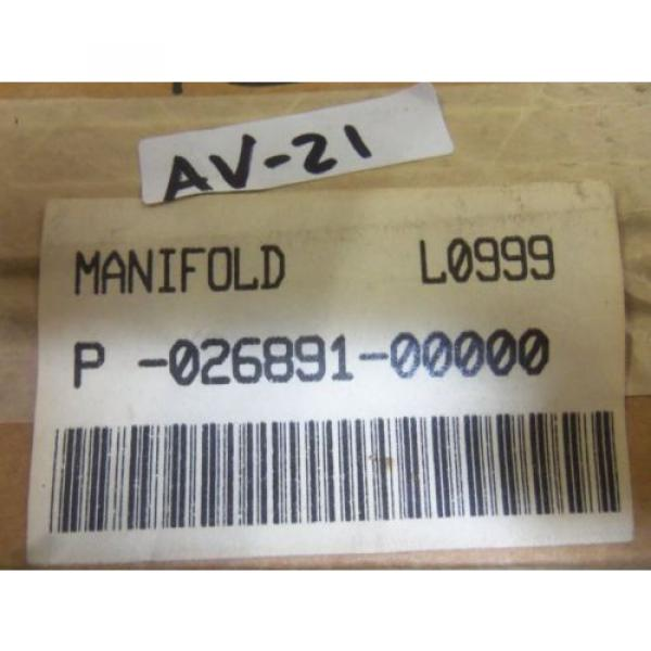 REXROTH P-026891-00000 MANIFOLD Origin IN BOX #4 image