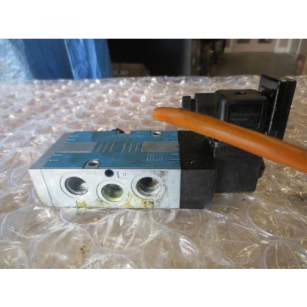 TREE VMC 1000 CNC MACHINE REXROTH PNEUMATIK VALVE 24V 10BAR MAX COIL #3 image