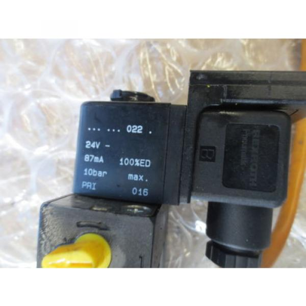 TREE VMC 1000 CNC MACHINE REXROTH PNEUMATIK VALVE 24V 10BAR MAX COIL #5 image
