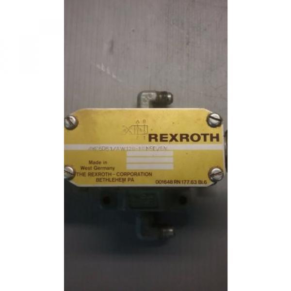 Rexroth 4WE6D51/AW120-60N9D/5V Directional Valve _ 4WE6D51AW12060N9D5V #4 image