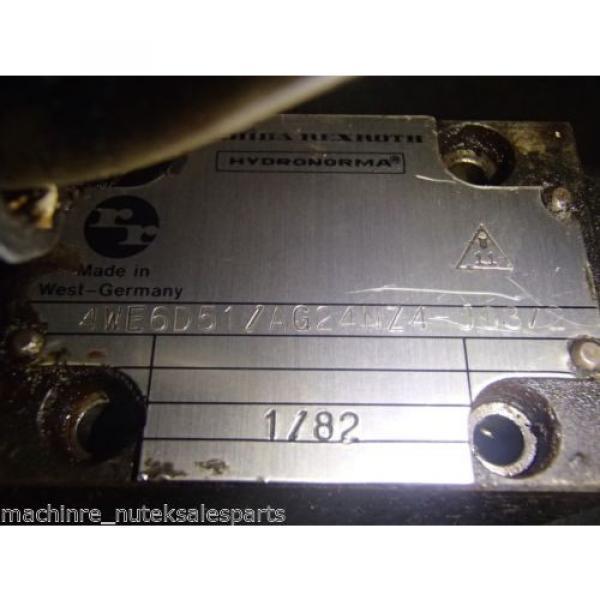 Rexroth 4WE6D51/AG24NZA-J03/2 Directional Valve 4WE6D51AG24NZAJ032 #5 image
