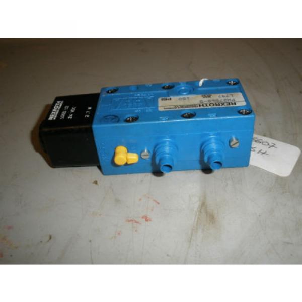 Rexroth PW27860  L197   150PSI   Pneumatic Valve #3 image