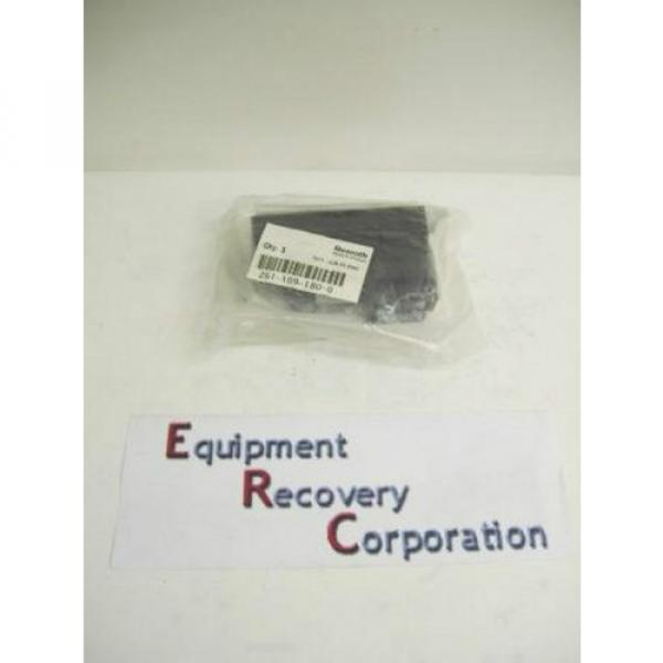 TM-2290, BOSCH REXROTH 261-109-180-0 PNEUMATIC SOLENOID ISO VALVE #1 image