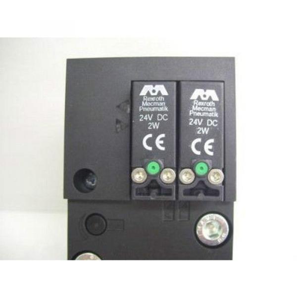 TM-2287, REXROTH 261-309-120-0 PNEUMATIC SOLENOID ISO VALVE #5 image
