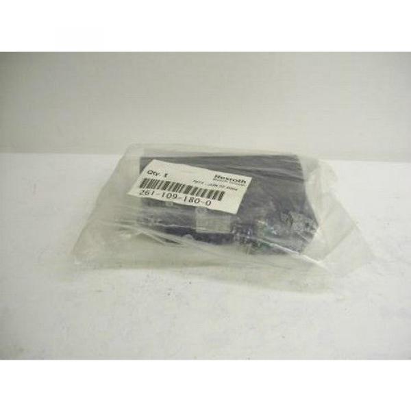 TM-2290, BOSCH REXROTH 261-109-180-0 PNEUMATIC SOLENOID ISO VALVE #2 image