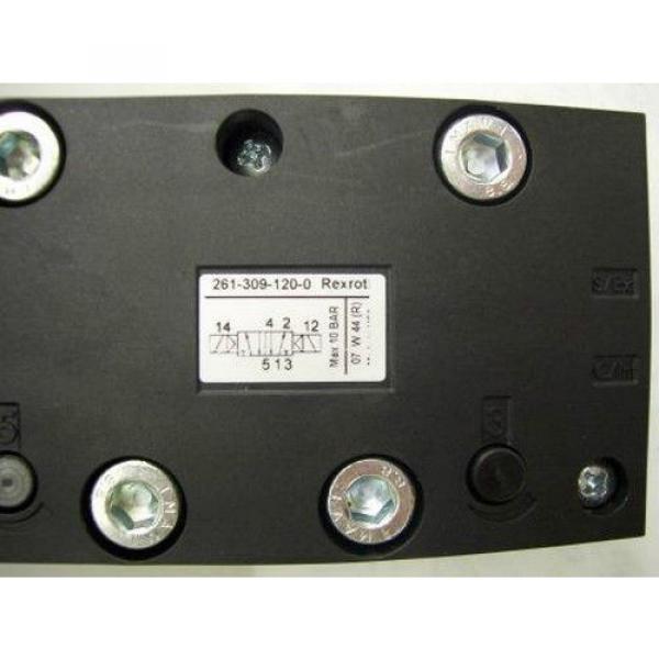 TM-2287, REXROTH 261-309-120-0 PNEUMATIC SOLENOID ISO VALVE #6 image