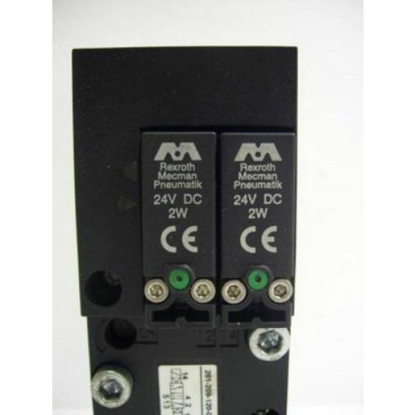 TM-2298, REXROTH 261-209-120-0 PNEUMATIC SOLENOID ISO VALVE #3 image