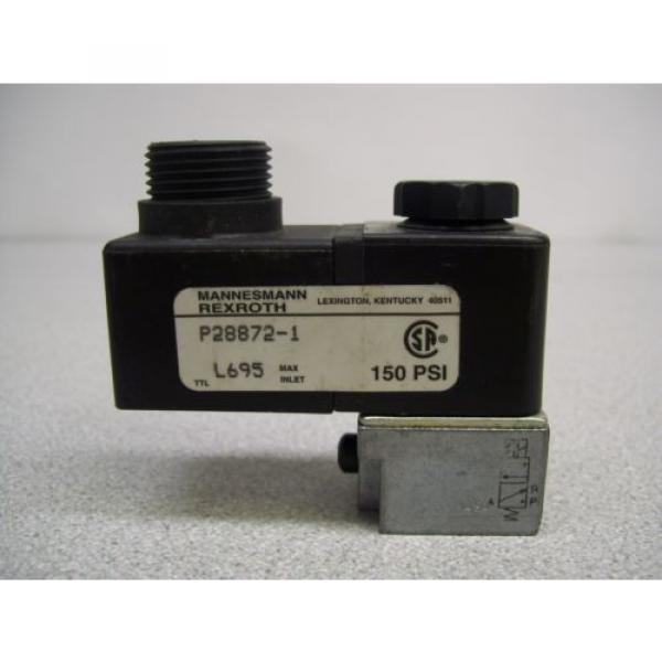 MX-395 MANNESMANN REXROTH P28872-1 SOLENOID LOT OF 2 #4 image