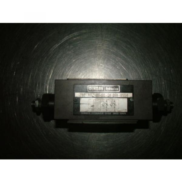 Denison Hydraulics ZRD-ABZ-01-SO-D1 ZRD Throttle Check Valves, ZRDABZ01S0D1 #1 image
