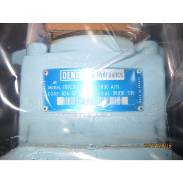 Denison Hydraulics Double Vane Pump T67CB-012-B03-1R00-A111 #2 image