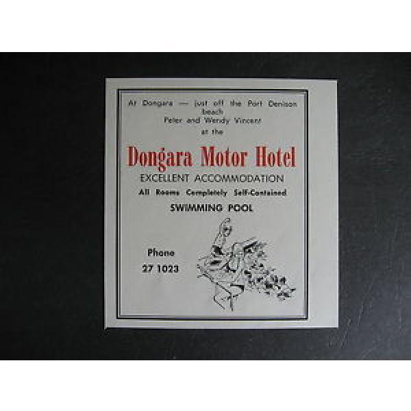 Dongara Motor Hotel Port Denison Peter amp; Wendy Vincent #1 image