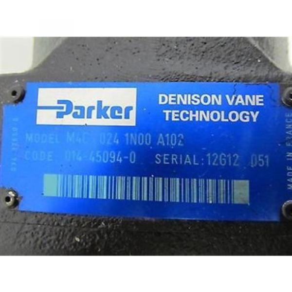 Parker / Denison, M4C-024-1N00-A102 Hydraulic Vane Pump #3 image
