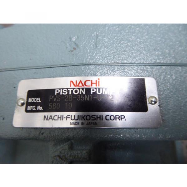 Origin NACHI PISTON PUMP PVS-2B-35N1-U-12 #5 image
