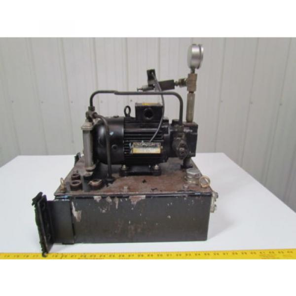 Nachi Fujikoshi 5-1594-99009 13L Hydraulic Pump Unit 200-220 3Ph #1 image