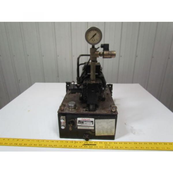 Nachi Fujikoshi 5-1594-99009 13L Hydraulic Pump Unit 200-220 3Ph #2 image