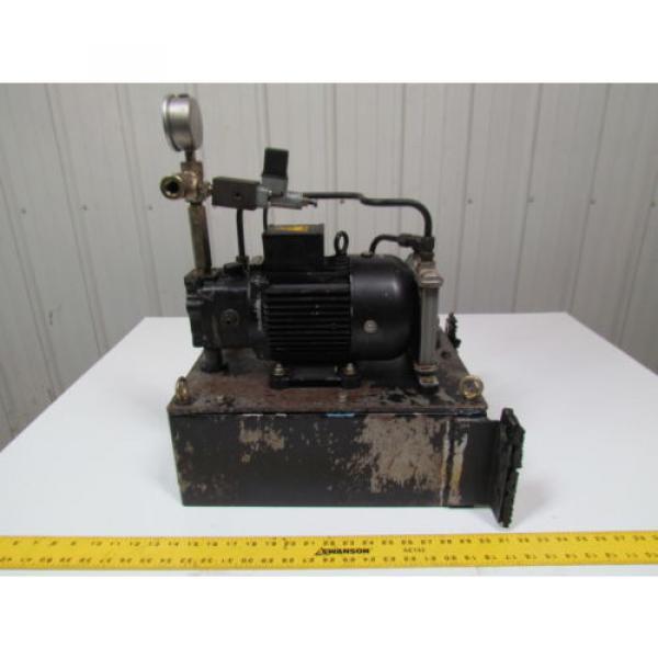 Nachi Fujikoshi 5-1594-99009 13L Hydraulic Pump Unit 200-220 3Ph #3 image