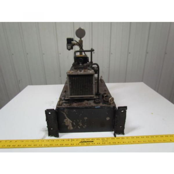 Nachi Fujikoshi 5-1594-99009 13L Hydraulic Pump Unit 200-220 3Ph #4 image