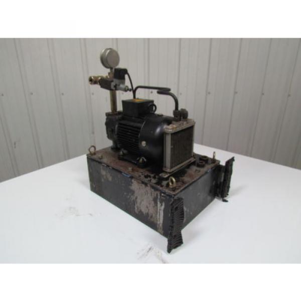 Nachi Fujikoshi 5-1594-99009 13L Hydraulic Pump Unit 200-220 3Ph #5 image