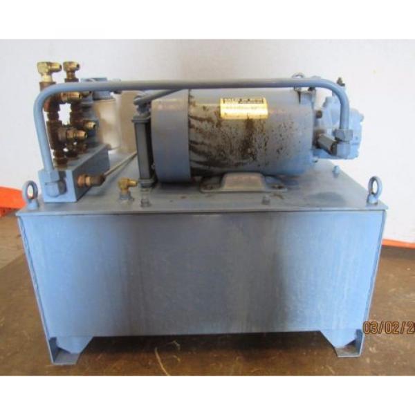NACHI HYDRAULIC POWER UNIT VARIABLE VANE VDC-1B-2A3-HU-1688K/OG331000 MOTOR #2 image