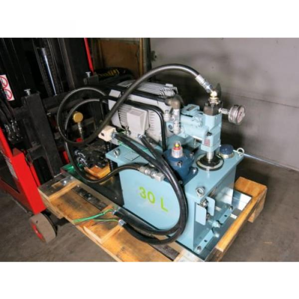 5 HP 105 GPM 2000 PSI Hydraulic Power Supply With Control Valves Sharp #1 image