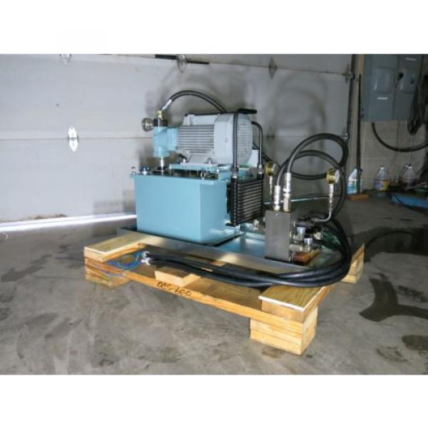 5 HP 105 GPM 2000 PSI Hydraulic Power Supply With Control Valves Sharp #2 image
