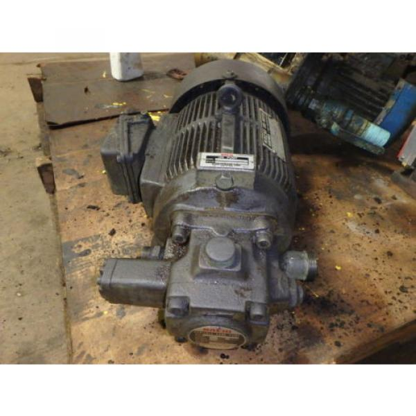 Nachi Variable Vane Pump Motor_VDR-1B-1A3-1146A_LTIS85-NR_UVD-1A-A3-22-4-1140A #1 image