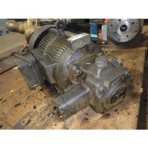 Nachi Variable Vane Pump Motor_VDR-1B-1A3-1146A_LTIS85-NR_UVD-1A-A3-22-4-1140A #2 image