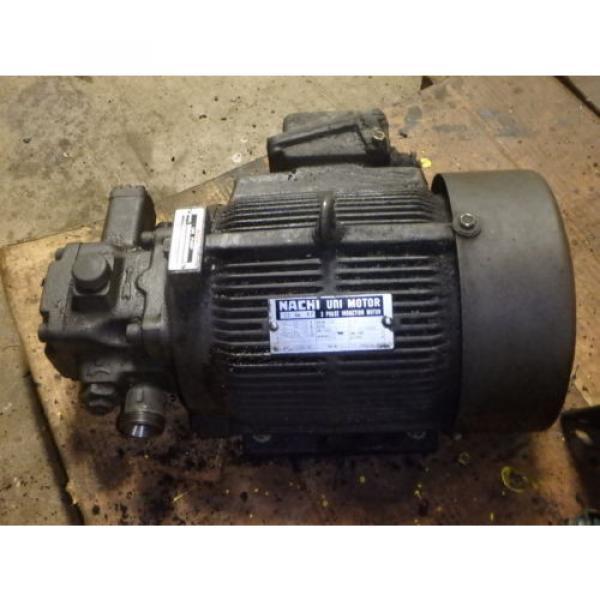 Nachi Variable Vane Pump Motor_VDR-1B-1A3-1146A_LTIS85-NR_UVD-1A-A3-22-4-1140A #3 image
